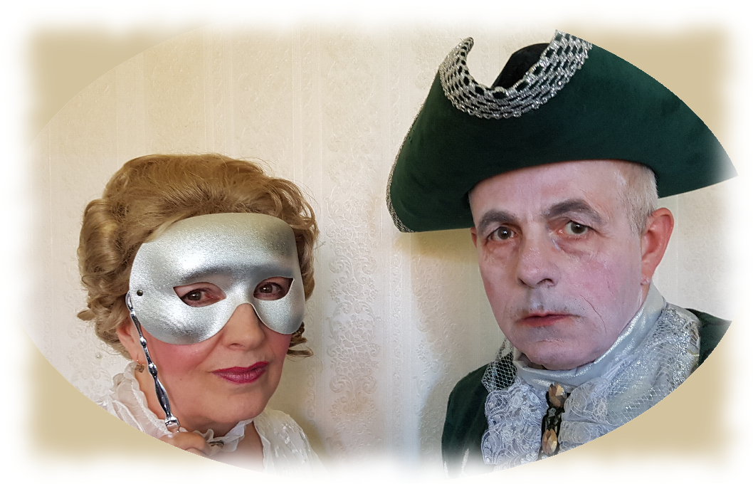Mistress Cornelys and the Chevalier de Seingalt
